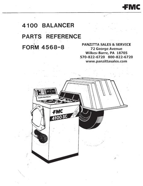 FMC 4100 Parts