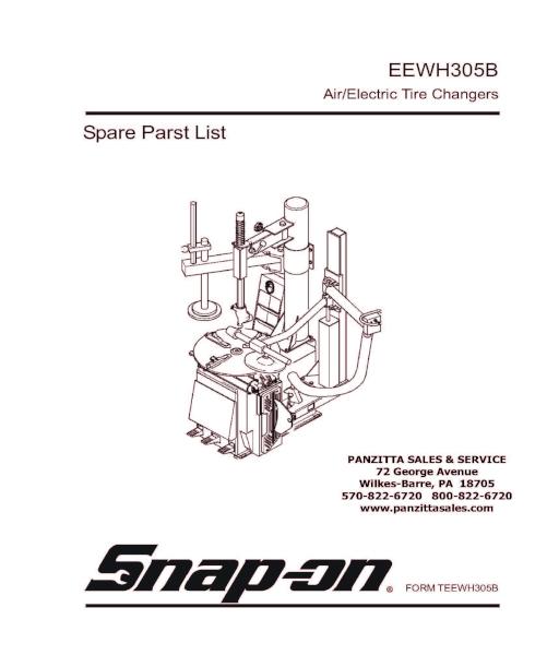 Snap-on / John Bean EEWH305B Parts