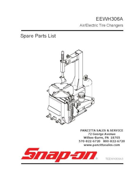 Snap-on / John Bean EEWH306A Parts