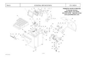 Atlas Wheel Balancer Parts and Breakdowns