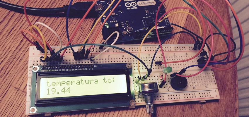 arduino pomiar temperatury