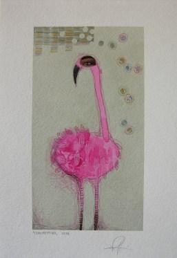CONIFETTIRO - acquerello, collage, pastelli