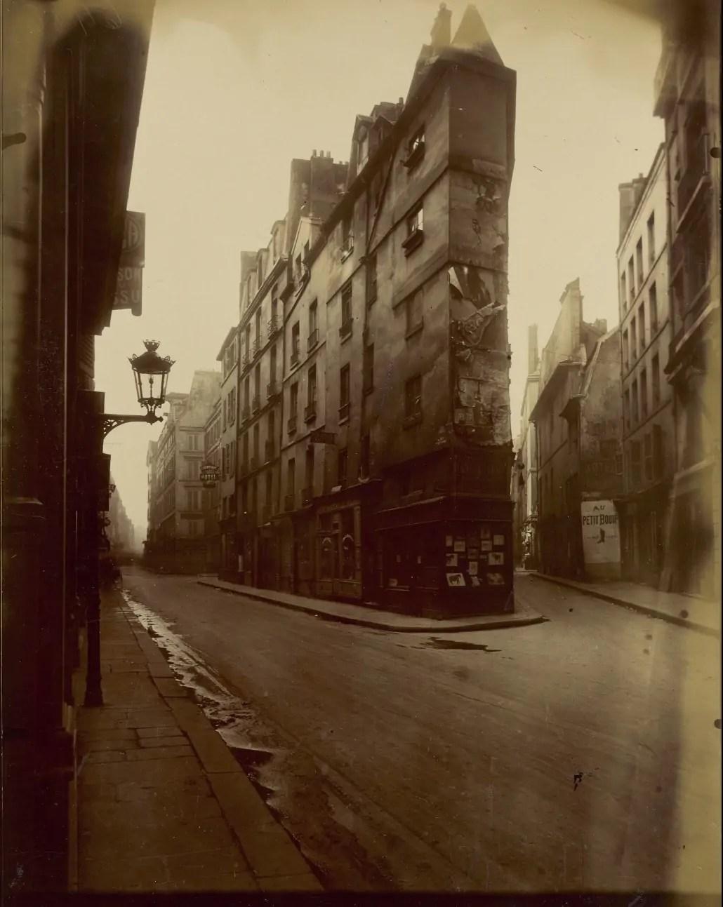 atget Vieille Cour 22 rue Quincampoix