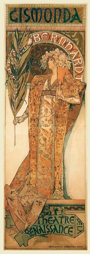 Alfons Mucha e lo stile Art Nouveau