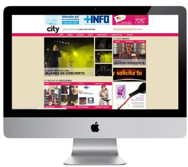 CITY | WEB DESIGN