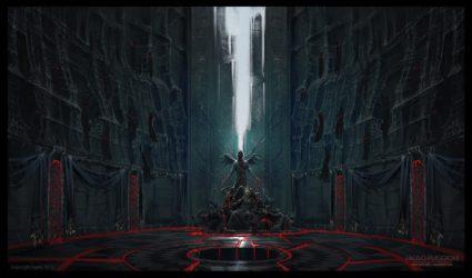throne room vampires drakan vampire concept castle environments puggioni paolo paolopuggioni above