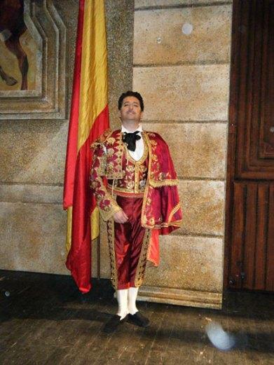 Paolo Ruggiero - CARMEN - Escamillo - Teatro Marrucino, Chieti (Italia). Direttore Marco Moresco.