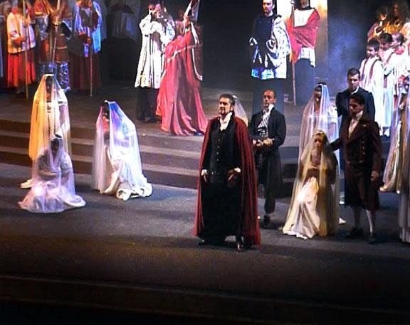 Paolo Ruggiero - Tosca - Te Deum - Staatstheater Karlsruhe (Germany). 2007 Conductor Jochem Hochstenbach.