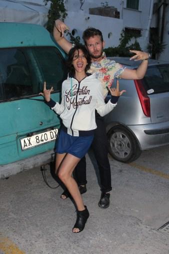 Giulia Bevilacqua ed io, rapper mood