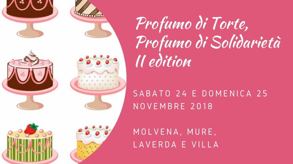 Profumo di torte, profumo di solidarietà 2018 - Scuola dell'Infanzia Paolo VI Molvena