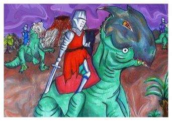 Caballero Dinosaurio. 2010