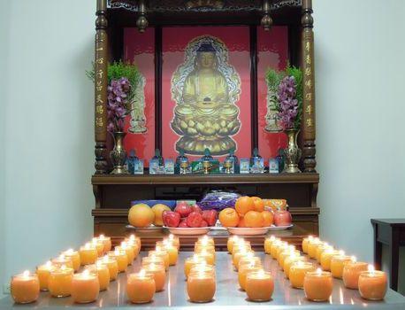 為台南大地震的亡者點燈