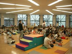 「クレオ大阪子育て館」保育室