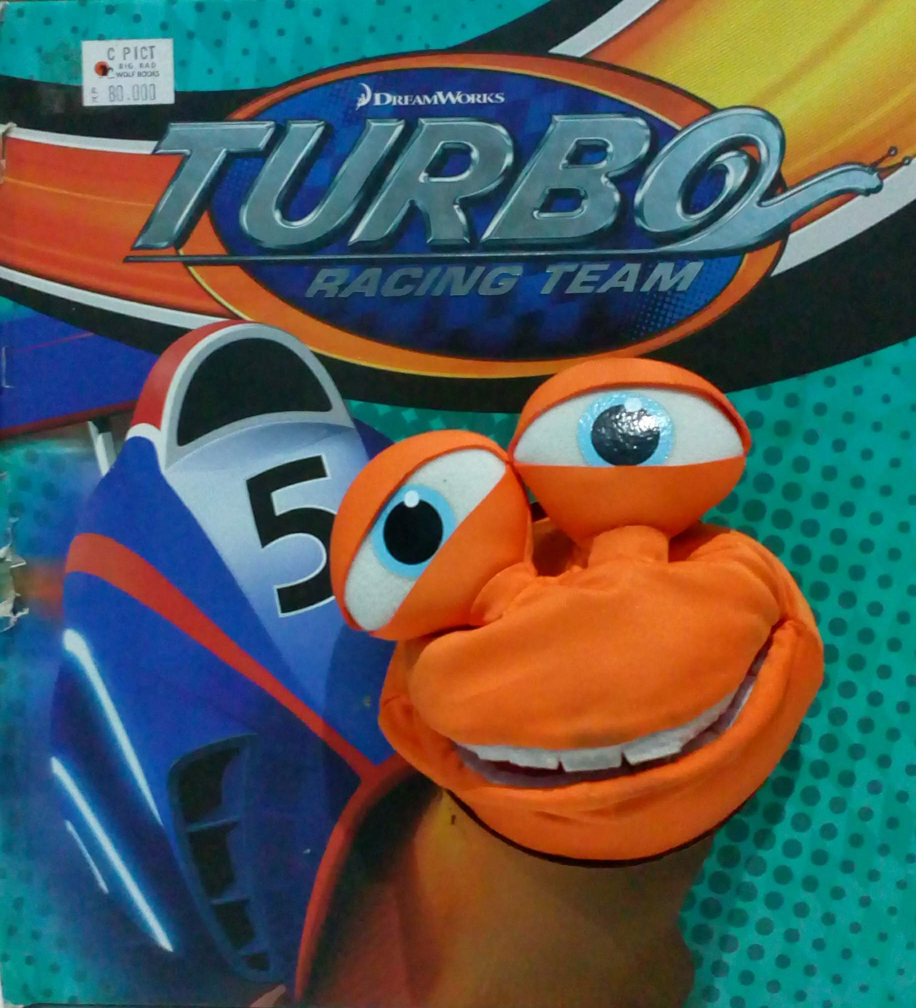 Turbo Racing Team My Name Is Turbo Sampul Buku
