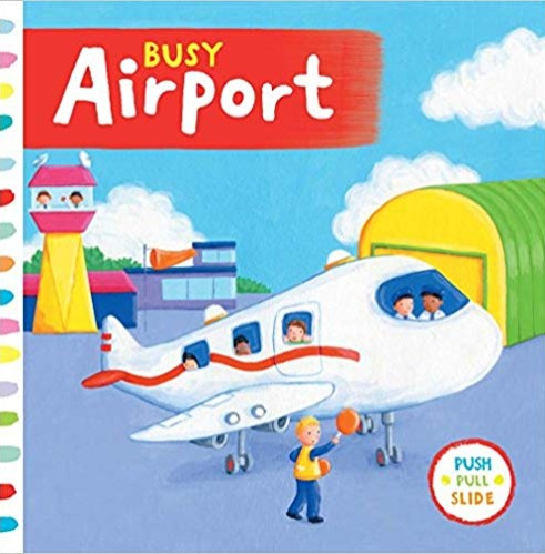 Busy Airport Sampul Buku