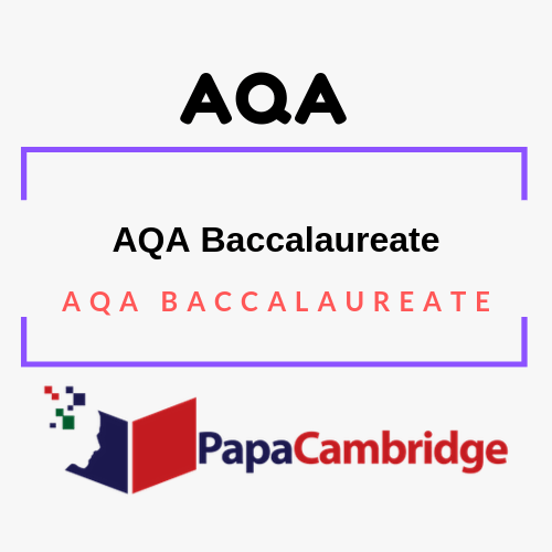 AQA Baccalaureate Past Papers