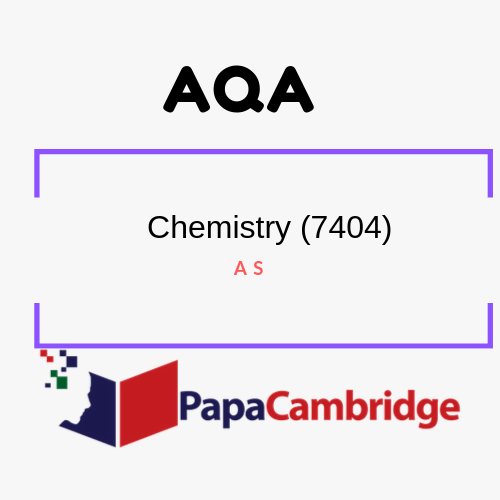 Chemistry (7404, 7405) AS PPT Slides
