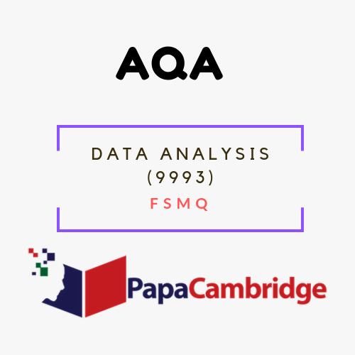 Data Analysis (9993) FSMQ Ebooks