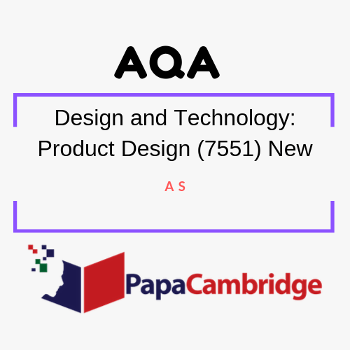 Design and Technology: Product Design (7551) AS PPT Slides
