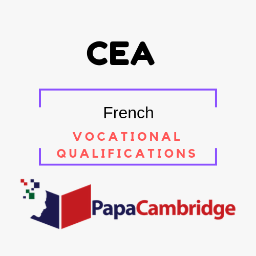 French Vocational Qualifications PPT Slides