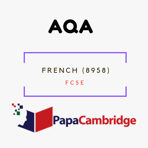 French (8958) FCSE Past Papers