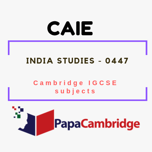 Cambridge IGCSE India Studies (0447) Notes