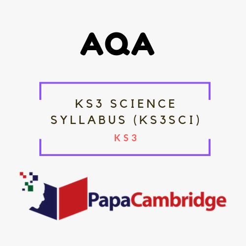 KS3 Science Syllabus (KS3SCI) KS3 Past Papers