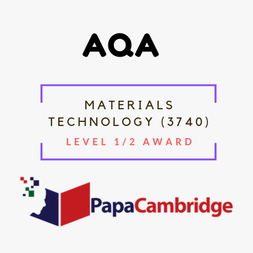 Materials Technology (3740) Notes