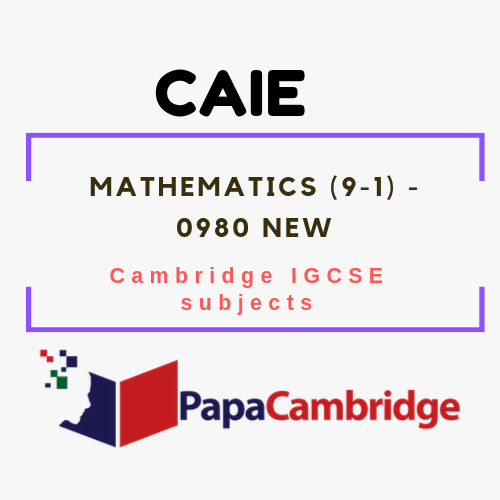 Cambridge IGCSE Mathematics (9–1) (0980) Notes