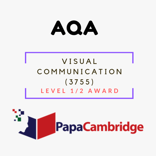 Visual Communication (3755) Level 1/2 Award Past Papers