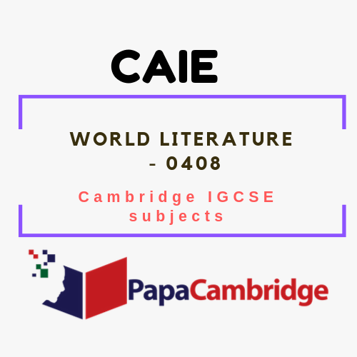 Cambridge IGCSE World Literature (0408) Notes