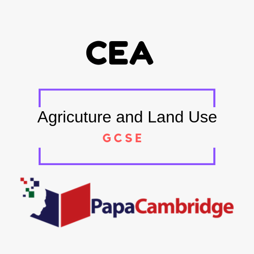 Agriculture and Land Use General Certificate of Secondary Education (GCSE) Notes