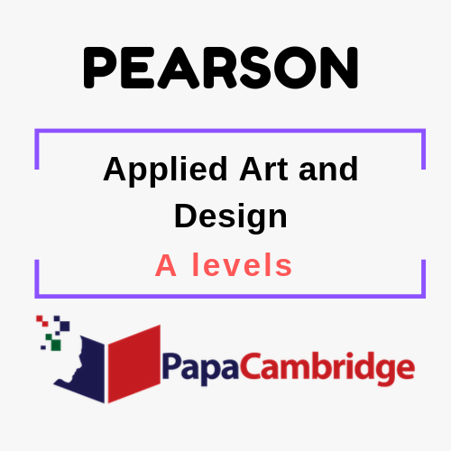 Applied Art and Design A level Syllabus