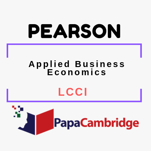 Applied Business Economics LCCI Past Papers