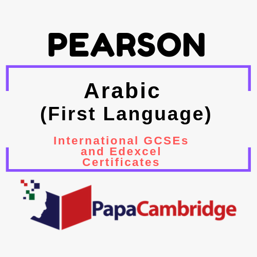 Arabic (First Language) (2017) International GCSEs and Edexcel Certificates Syllabus