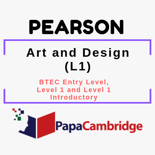 Art and Design (L1) BTEC Entry Level, Level 1 and Level 1 Introductory PPT Slides