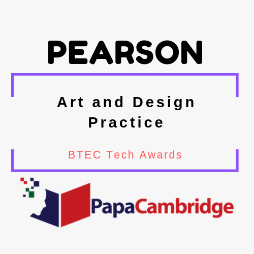 Art and Design Practice BTEC Tech Awards Past Papers