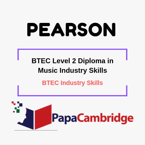 BTEC Level 2 Diploma in Music Industry Skills Notes