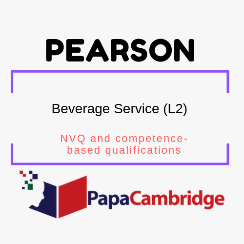 Beverage Service (L2) NVQ and competence-based qualifications Syllabus