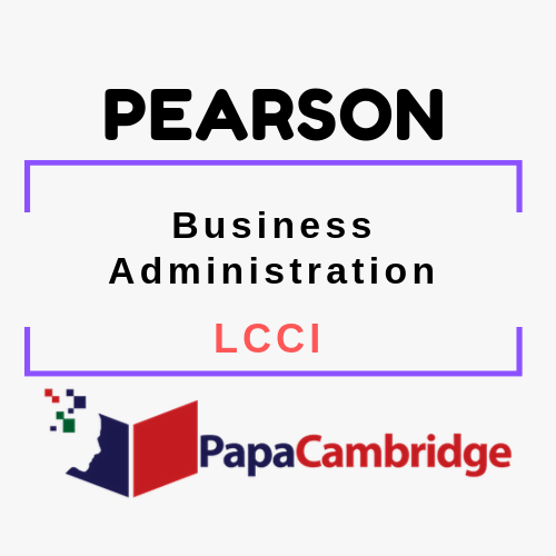 Business Administration LCCI Past Papers