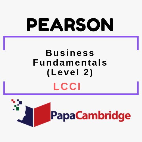 Business Fundamentals (Level 2) LCCI Past Papers