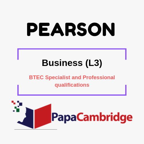 Business (L3) BTEC Specialist and Professional qualifications Past Papers