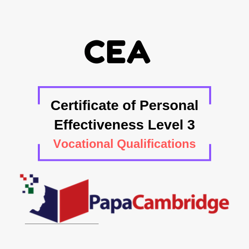 Certificate of Personal Effectiveness Level 3 Vocational Qualifications Ebooks