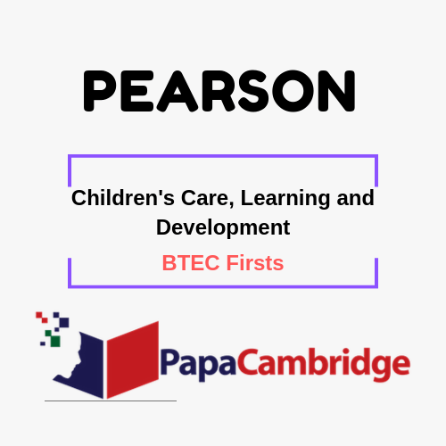 Children's Care, Learning and Development (2006) BTEC Firsts Syllabus