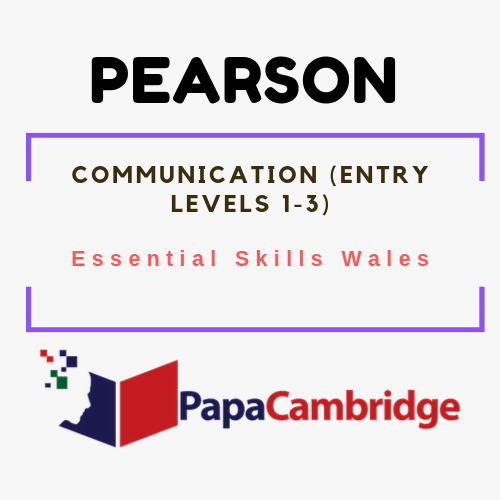 Communication (Entry Levels 1-3) Essential Skills Wales Syllabus