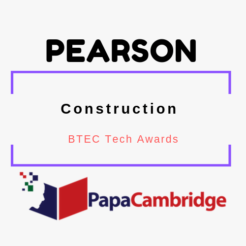 Construction BTEC Tech Awards Past Papers
