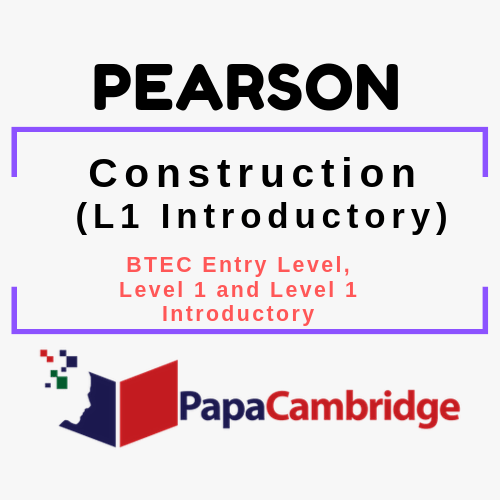 Construction (L1 Introductory) BTEC Entry Level, Level 1 and Level 1 Introductory PPT Slides