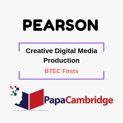 Creative Digital Media Production BTEC Firsts Syllabus