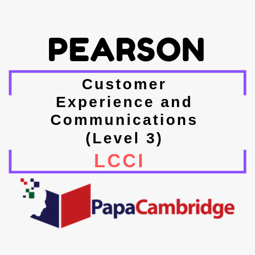 Customer Experience and Communications (Level 3) LCCI Syllabus