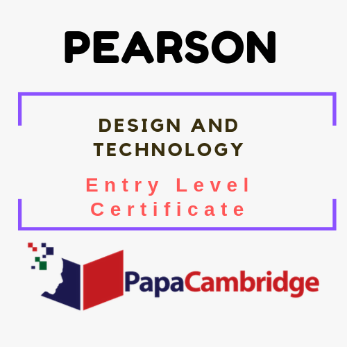 Design and Technology Entry Level Certificate Ebooks